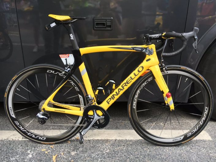Chris Froome's Siegerbike